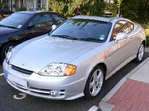 Hyundai Coupe 2.7 V6