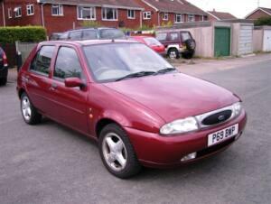 Ford Fiesta Ghia X