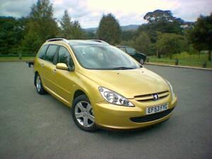 Peugeot 307 SW SE 2.0 HDI 110Bhp