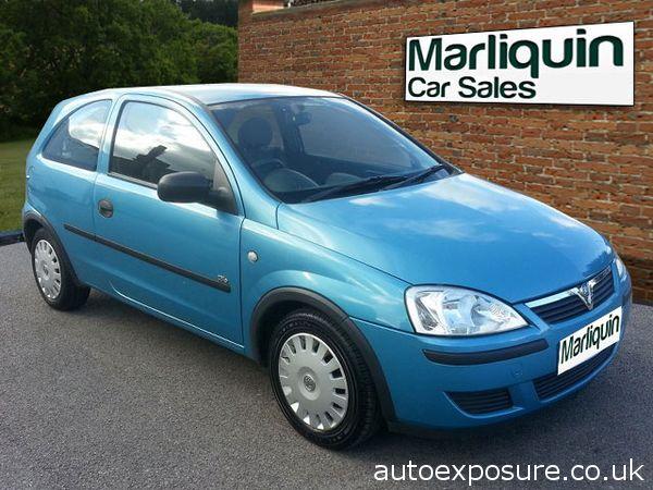Vauxhall 2004 54 VAUXHALL CORSA 1.0i 12